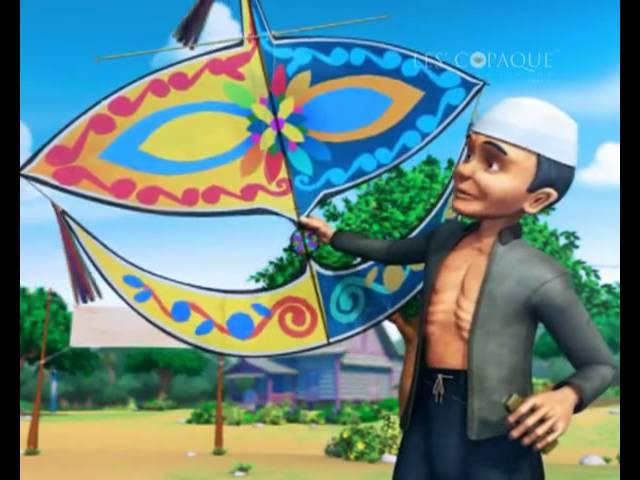 Permainan Tradisional Melayu Main Layang Layang Wau
