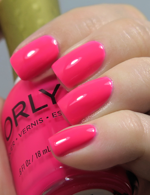 ORLY Va Va Voom Hot Pink Swatch