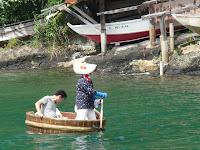 矢島・経島のたらい舟