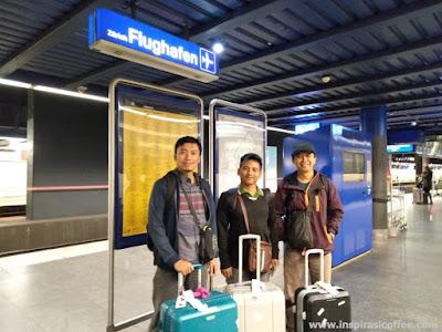 Tiba di Stasiun Zurich Flughafen