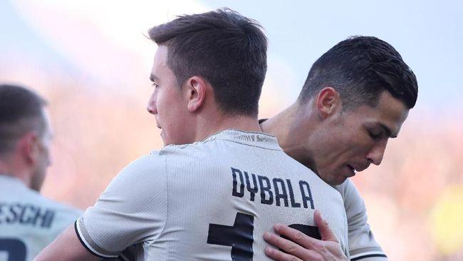 Legenda Klub Juventus Mengatakan Ronaldo Bikin Dybala Menderita 2019