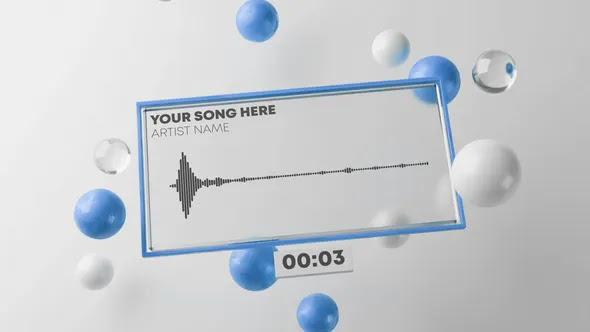 Videohive Fresh Audio React Music Visualizer 3D 28137662