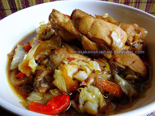 resep tongseng ayam tanpa santan berkuah pedas