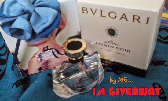 1st Giveaway by Melangkau Garisan with love