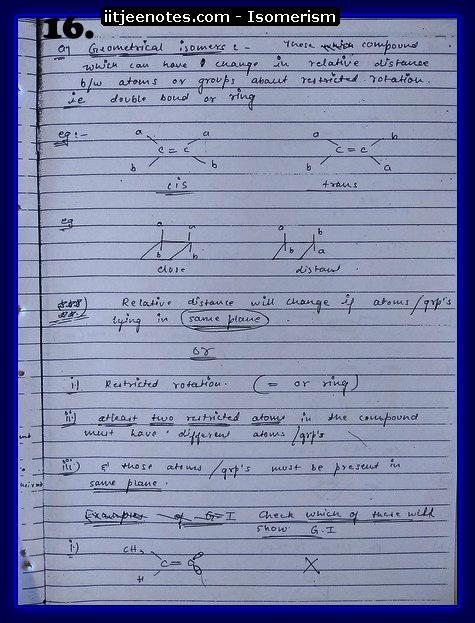 Isomerism16