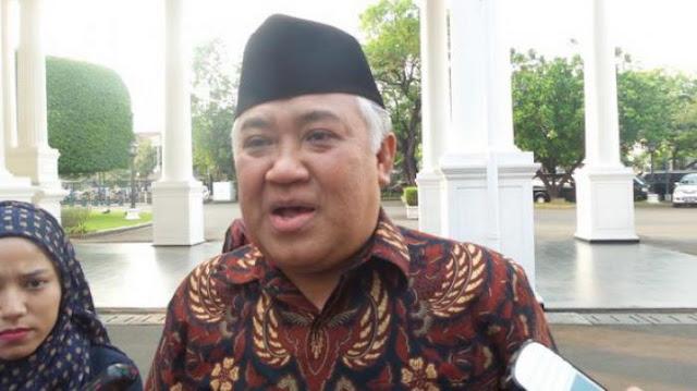 Tanggapi Reuni Alumni Demo 212, Din Syamsuddin: kok Kaya Sekolah Ya