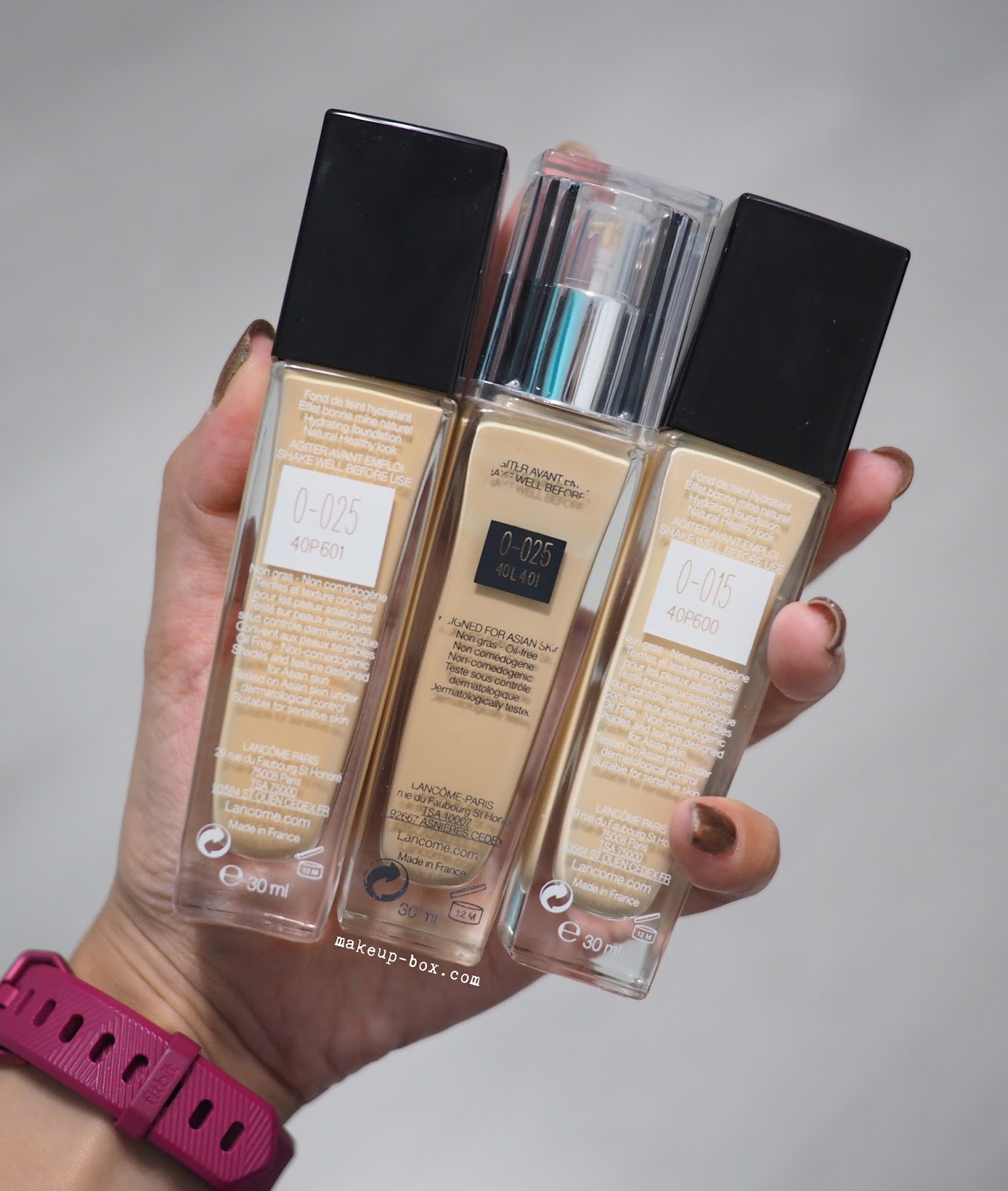 The Makeup Box: Lancôme Teint Miracle Hydrating Foundation - 2017