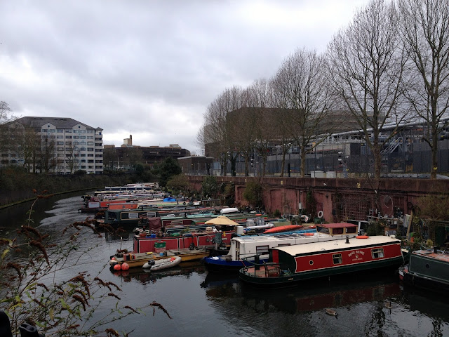 casas barco en Little Venice en Londres