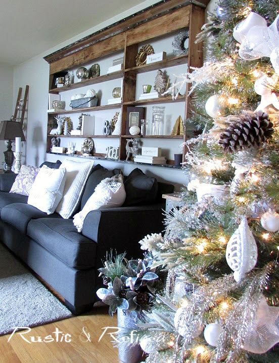 Where to put the Christmas Tree - Holiday Decor Ideas