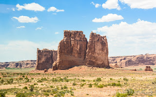 拱門國家公園 Arches National Park, Three Gossips