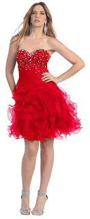 red homecoming dresses 2013