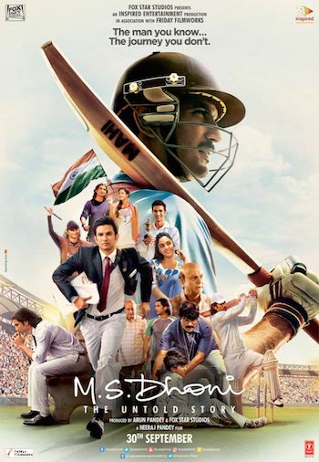 MS Dhoni The Untold Story 2016 Hindi Full HD Movie Download