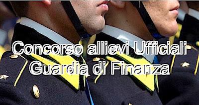 Concorso allievi Ufficiali Guardia di Finanza (adessolavoro.blogspot.com)