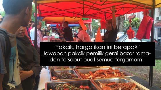 Gerai Bazar Ramadan Bayar Ikut Suka Buat Pengunjung Tergamam