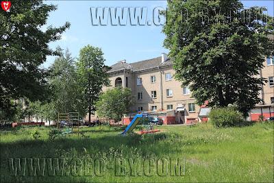 Минск. Кварталы послевоенной застройки микрорайона 'Велозавод'