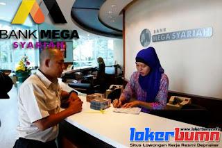 Lowongan Kerja Terbaru PT Bank Mega Syariah Banyak posisi tersedia