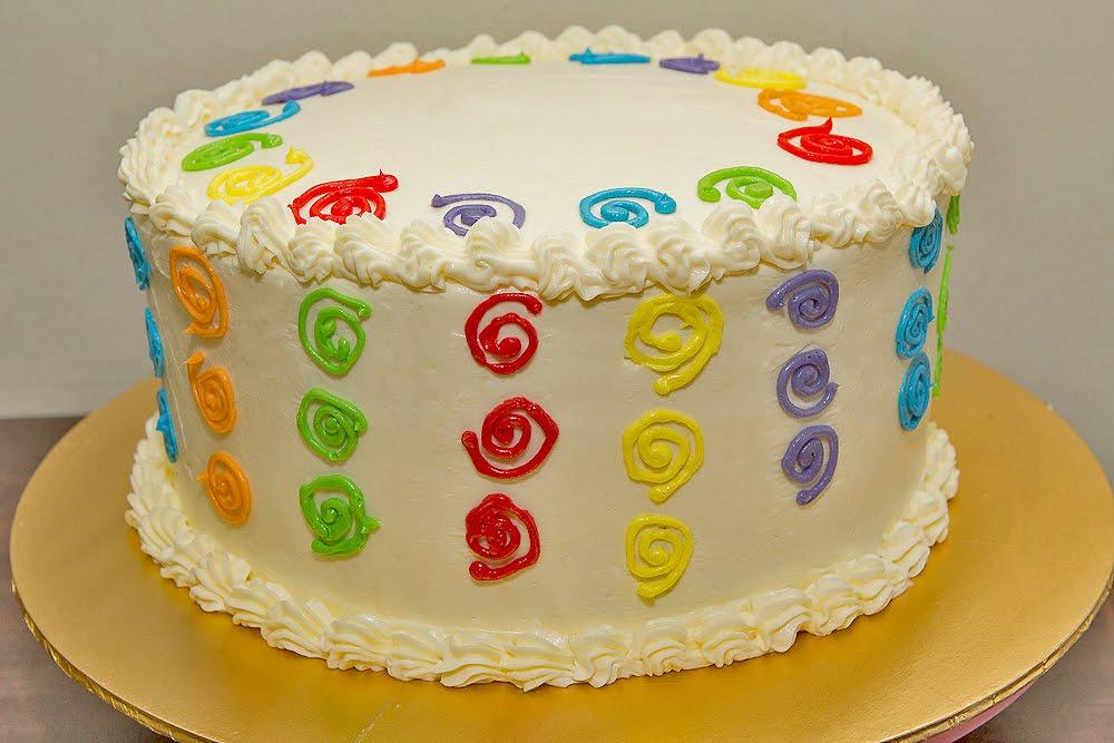 Rainbow Cake Recipe Italian: Zara ♥ Baking