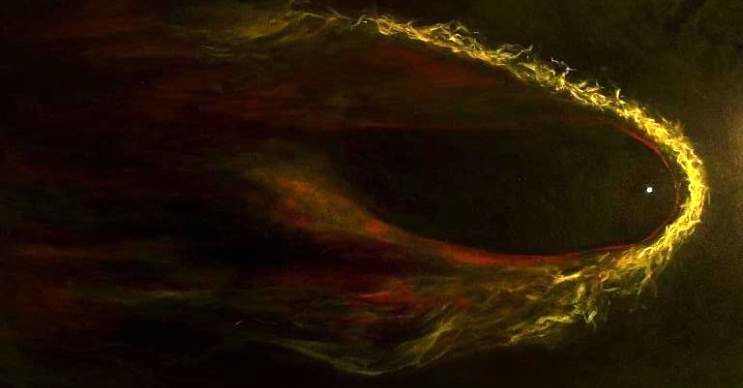 Karadul pulsarı çevresinde ne kadar madde varsa hepsini tüketir.
