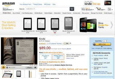 Nowy Kindle za $89