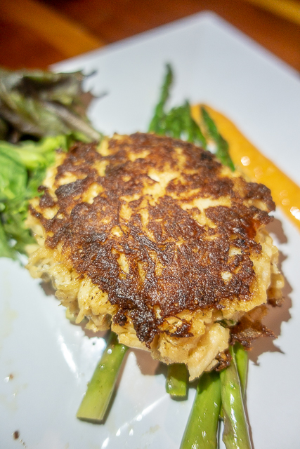 Crab Cake - Cap's on the Water - St Augustine FL