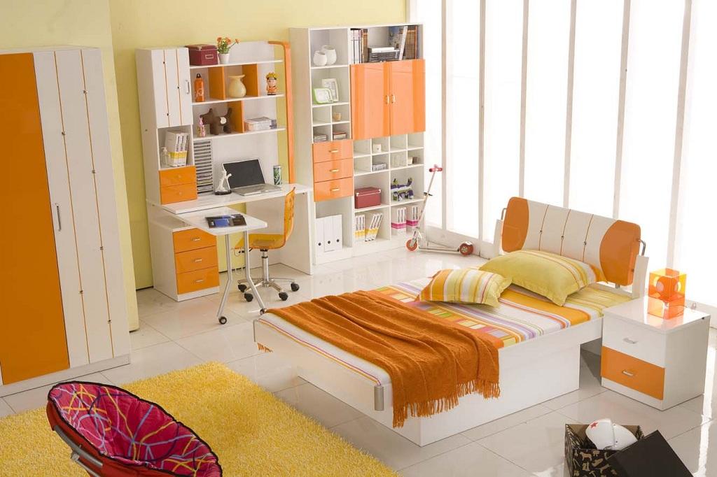 decorando casas Cores para quartos infantis