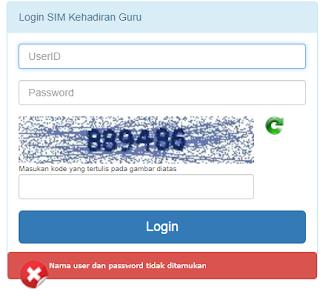 http://hadir.gtk.kemdikbud.go.id Website Login SIM Kehadiran Guru
