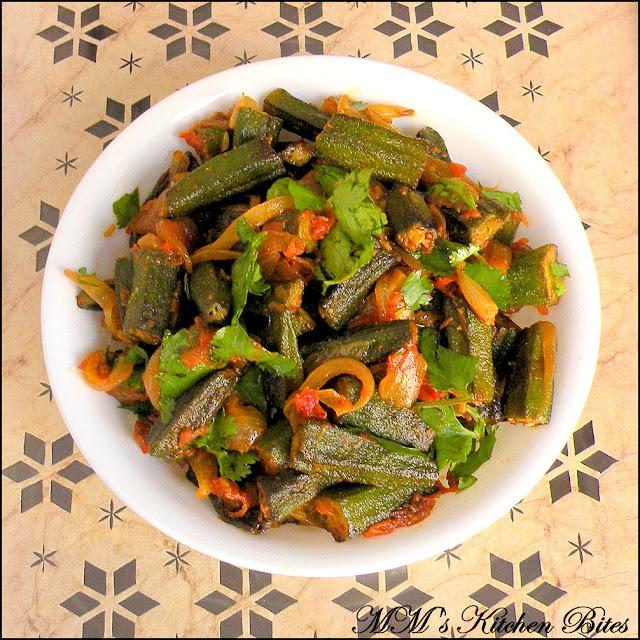 Bhindi Masala mmskitchenbites