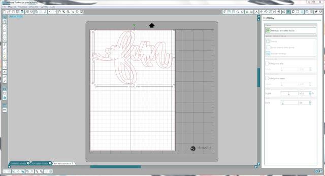 Come utilizzare singoli file .png nella modalità Print & Cut | Silhouette Cameo step9