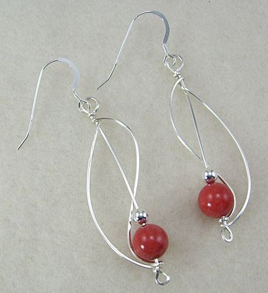 Fun Square Wire Earrings Tutorial