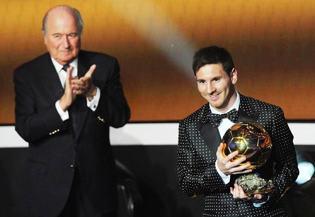 Blatter: Messi Jauh Lebih Baik Daripada Ronaldo