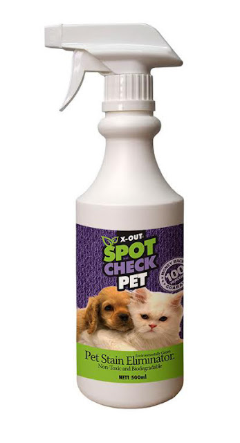 X-OUT Spot Check Pet Stain Eliminator Spray Bottle