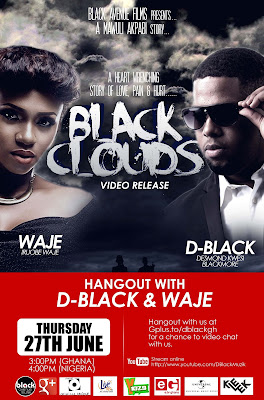 VIDEO: D-Black ft Waje – Black Clouds (Behind the Scenes)