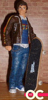 seth cohen skateboard action figure the oc o.c.