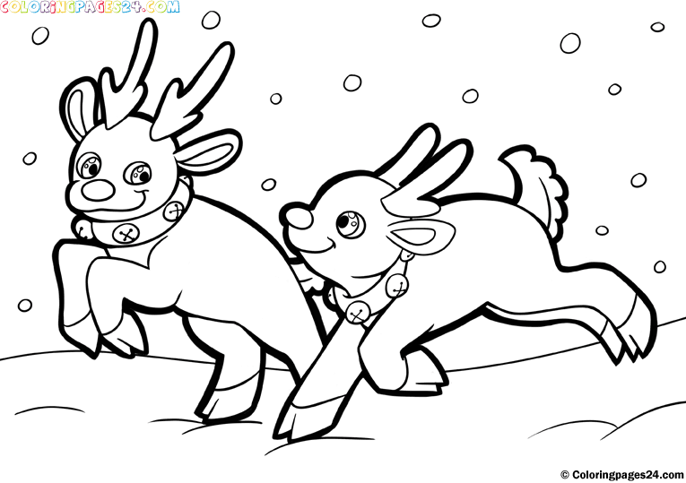 holiday themed coloring pages - photo #9