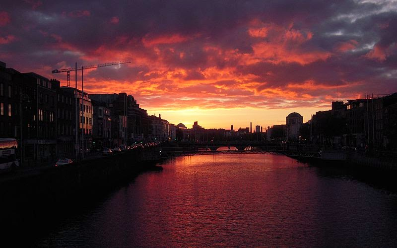 Cielo Rosso Di Notte.Quaderni D Irlanda Cielo D Irlanda