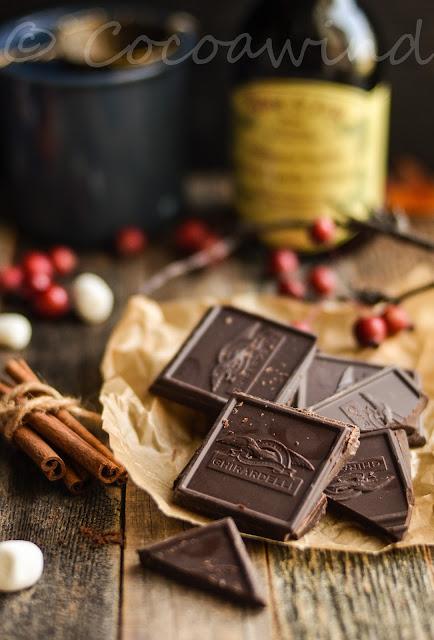 Cinnamon infused Hot Chocolate - Single Serve