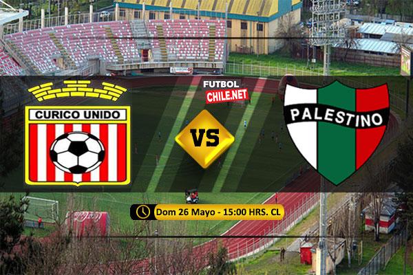 Mira Curicó Unido vs Palestino en vivo y online por la Primera División