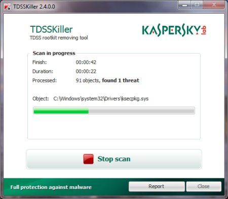 Download Kaspersky TDSSKiller 3.1.0.11 Portable