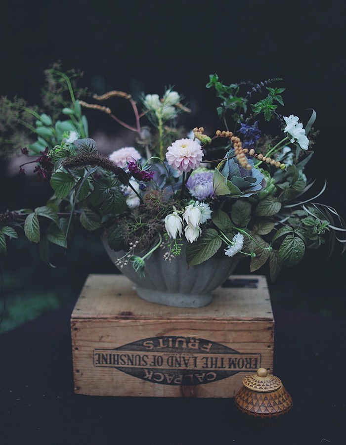 flower arrangement we made together photo by Kreetta Järvenpää