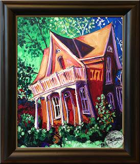1866 Bentonville Schoolhouse by Tim Logan