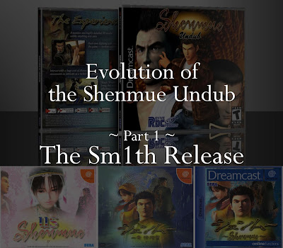 Evolution of the Shenmue Undub: The Sm1th Release