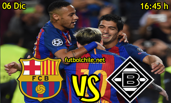 Ver stream hd youtube facebook movil android ios iphone table ipad windows mac linux resultado en vivo, online: Barcelona vs Borussia Mönchengladbach