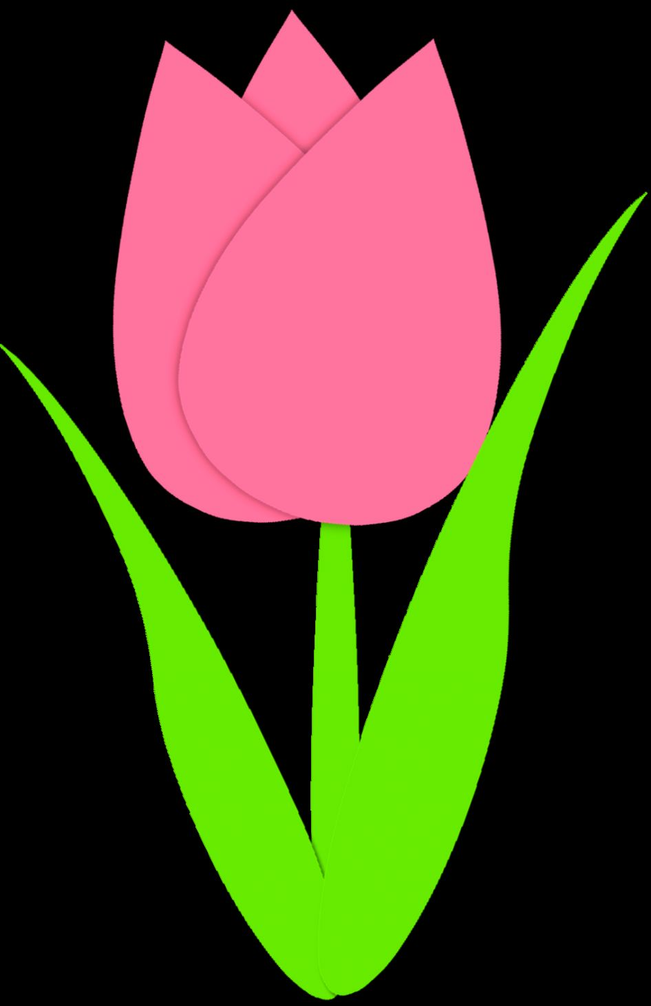 Tulips Clipart   Wallpapers Gallery Tulips Clip Art Border