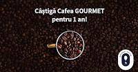 Castiga cafea Gourmet pentru 1 an