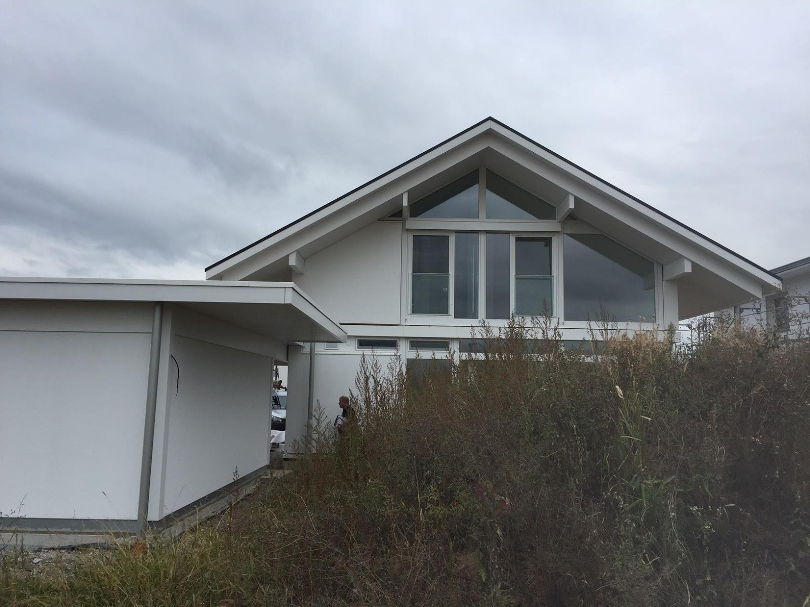 Hausabnahme, modum Haus, Huf | Modernes Fachwerkhaus - Alle ...