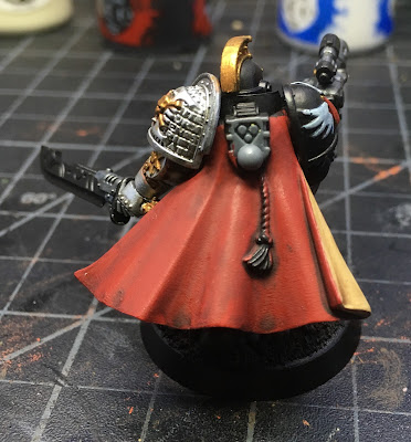 Deathwatch Watch Captain with Jump Pack WIP back