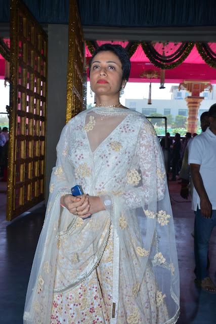 Namrata Shirodkar at T.SubbaramiReddy Grand Son Keshav Wedding