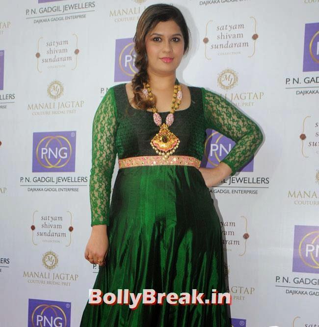 Manali Jagtap, Hrishita Bhatt at Satyam Shivam Sundaram Jewellery Launch