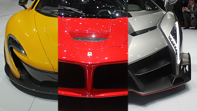 Ferrari et Lamborghini