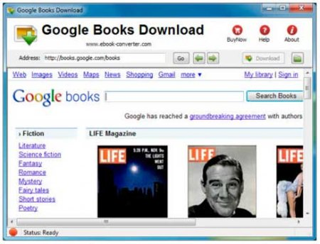 How to download google books in pdf, png and jpeg format.